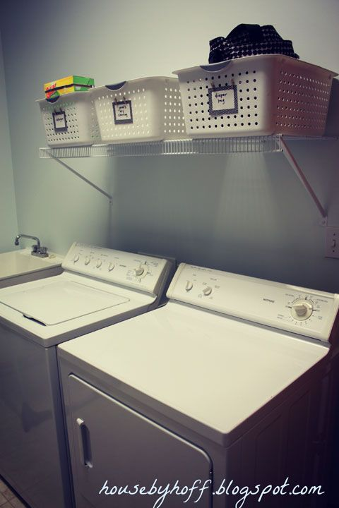 Laundry Room organisation ideas