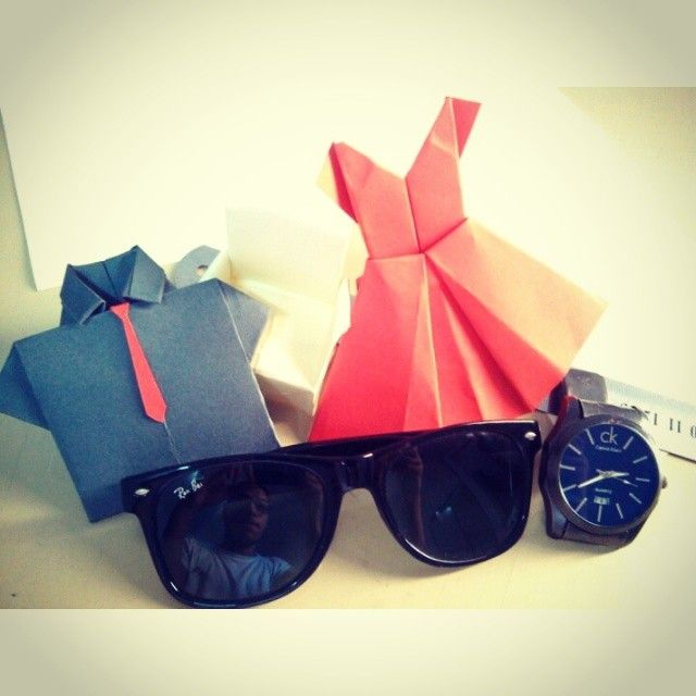 #Beautiful #colors #design #time :D #origami #Glasses #Watch #start #architect #life #ebdaa3