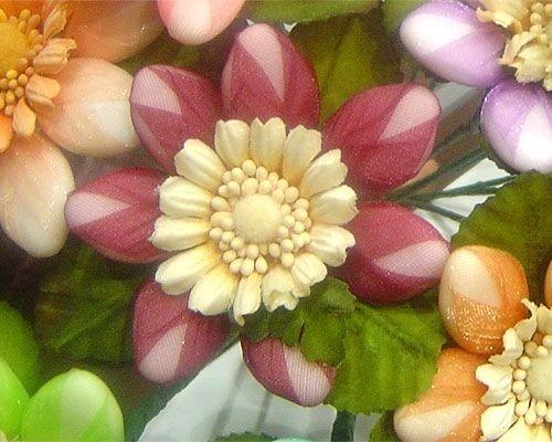 Fiore di confetto Sulmona GERBERA artigianale bomboniera segnaposto laurea
