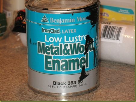 Benjamin Moore Metal And Wood Black 363 80 Check Out