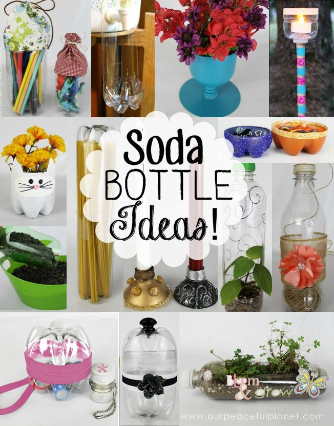 The Best And Most Unique Plastic Bottle Crafts Anywhere We Used