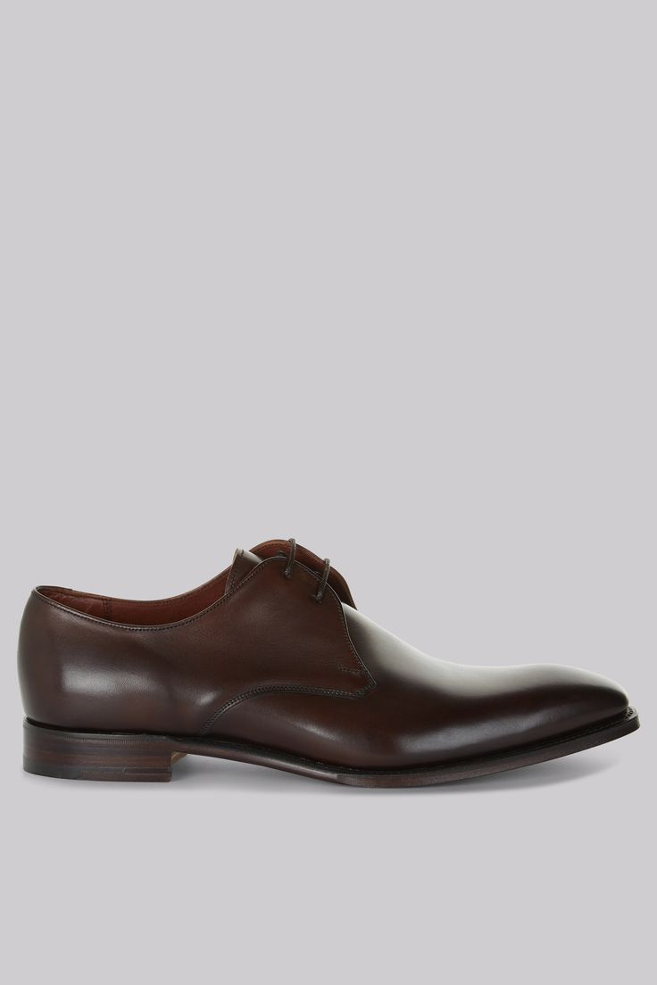 Cheaney Shoes Brown Plain Toe Derby Shoes An essential smart pair of shoes for the modern man. Once you™ve got a fine pair of shoes at hand, your formal attire will always look sharp. That™s where these Derby shoes come in. They have a stylis http://www.MightGet.com/january-2017-12/cheaney-shoes-brown-plain-toe-derby-shoes.asp