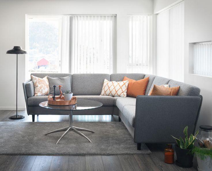 Noor kombinationssoffa från Brunstad. #modern #soffa #soffor