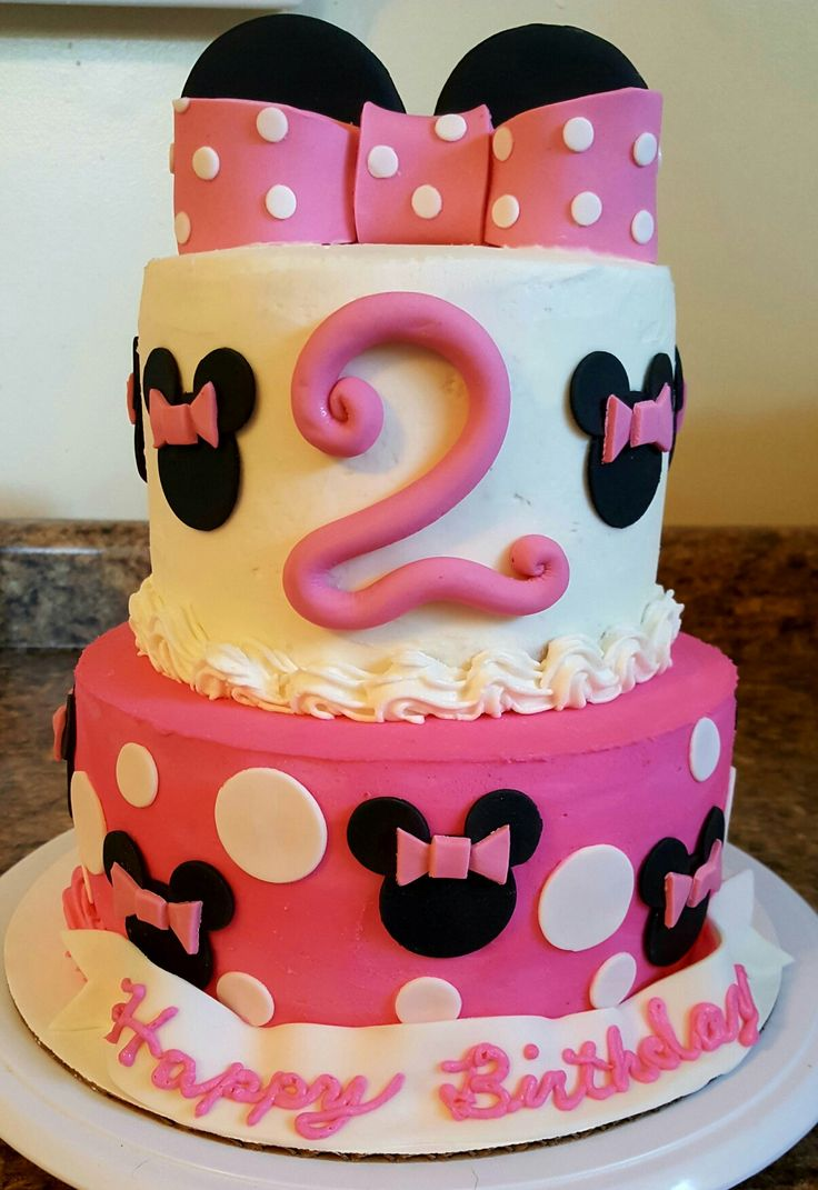 Best 25+ Minnie mouse cake design ideas on Pinterest ...