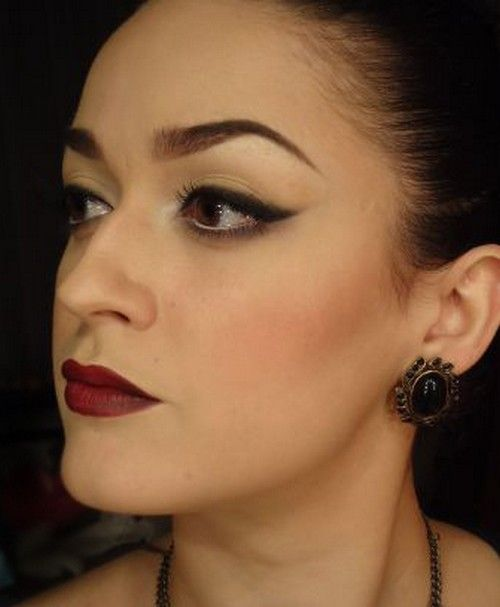 15 Charming Night Makeup Ideas #charming #ideas #makeup #night
