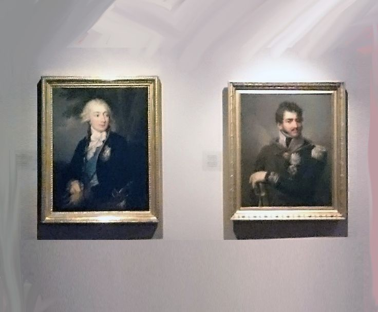 National Museum Warsaw - age of enlightenment, periwig next to citizen revolution (our hairdo) π