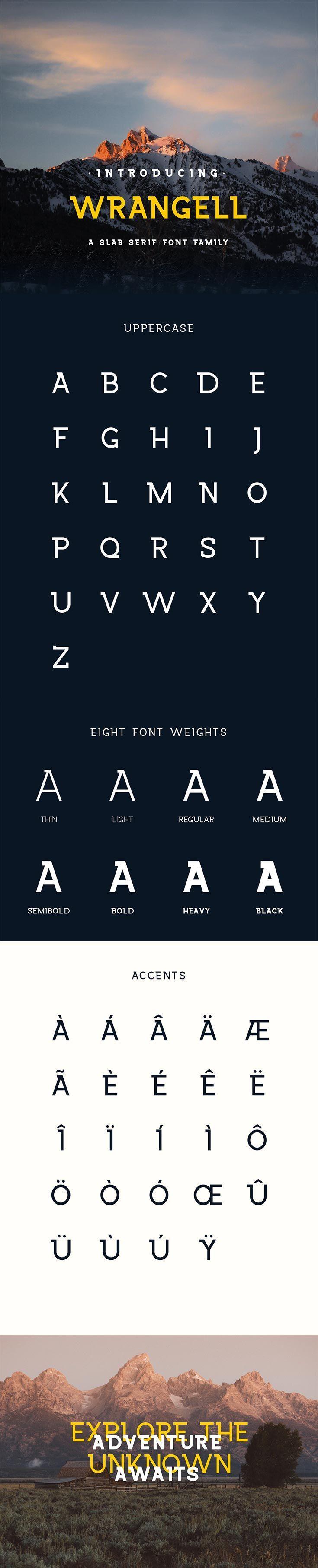 Free Wrangell Slab Serif Demo Font