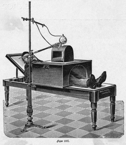Primeras máquinas de Radiología