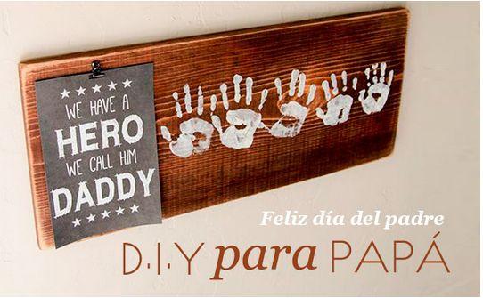 DIY regalos para el día del padre