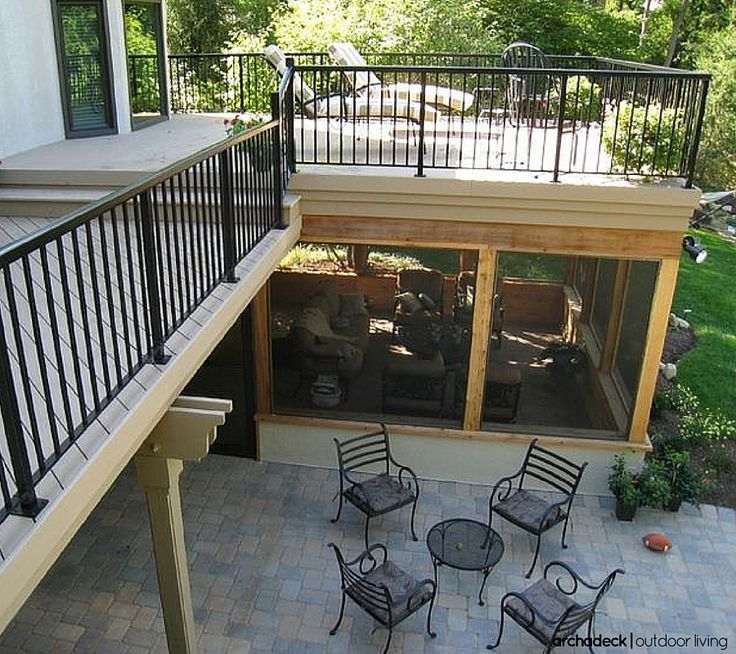 As Real Estate Values Continue To Recover From The Recession Homeowners Want Multi Functional Screened In Patiodeck