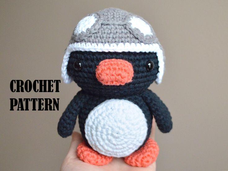 Tutorial Amigurumi Pinguino : 393 best crochet i like penguins images on pinterest amigurumi