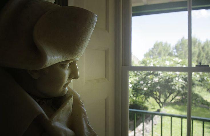 statue of Napoleon in Briar's house, Saint Helena