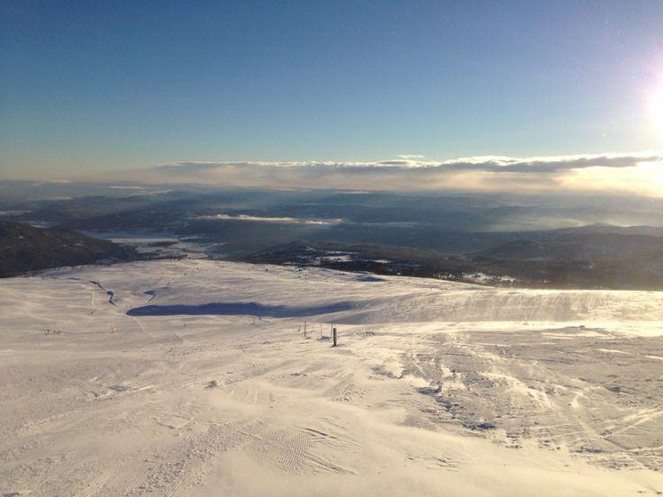 Norefjell in Noresund, Buskerud