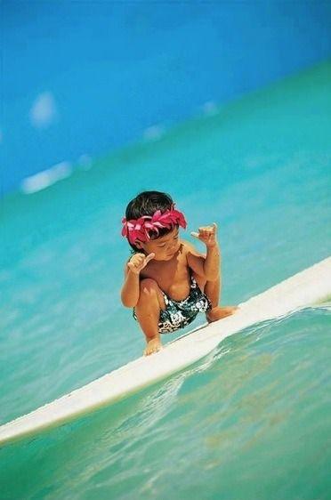 #cute #surfing #aloha