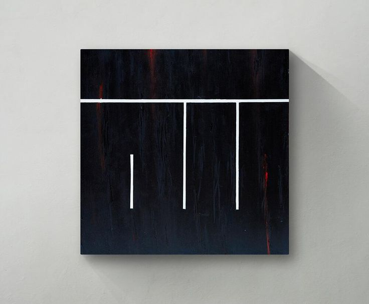 A minimalist Kufic canvas, one of my most treasured. by Ruh Al-Alam (VisualDhikr)