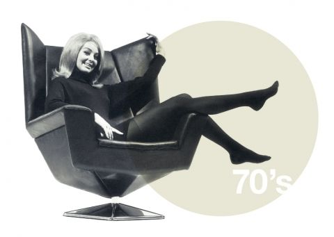 Creating The Best Workplaces Since 1945. #seventies #prisma #chair #martela #furniture
