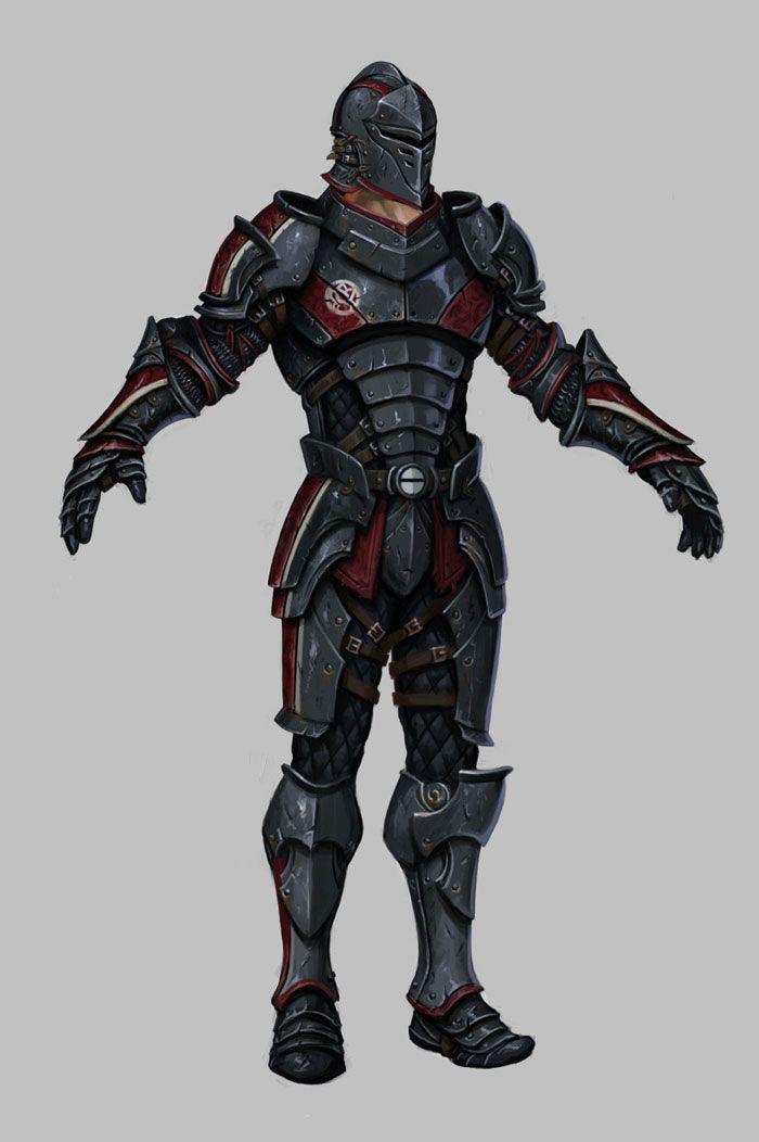 Daarken's Fantasy Art Has Shades of Mass Effect