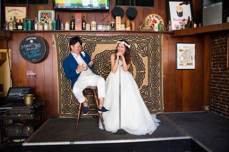 結婚式のお写真頂きました!|結婚式の新郎タキシード/新郎衣装はメンズブライダルへ