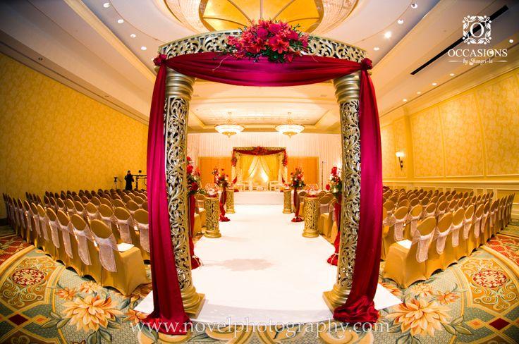 Indian Wedding Mandaps   Event Decorators : Occasions By Shangri-la, indian wedding decor, indian mandap, indian wedding