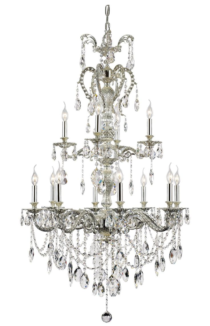 South Shore Decorating: Trans Globe Lighting JE-12 AN Silver Fountain Traditional Chandelier TG-JE-12-AN
