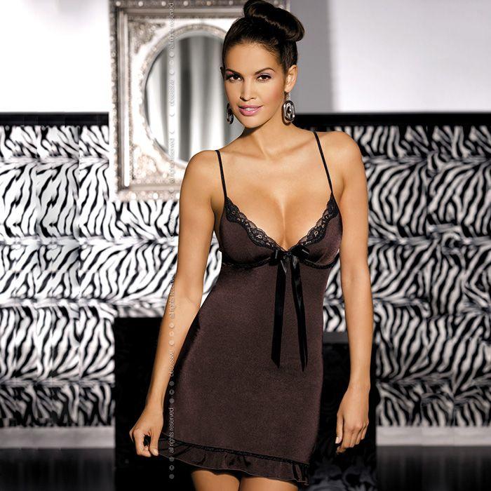 TANGO CHEMISE & THONG S/M PRECIO: 34,95€ DISPONIBLE EN: www.mipedidosexy.com