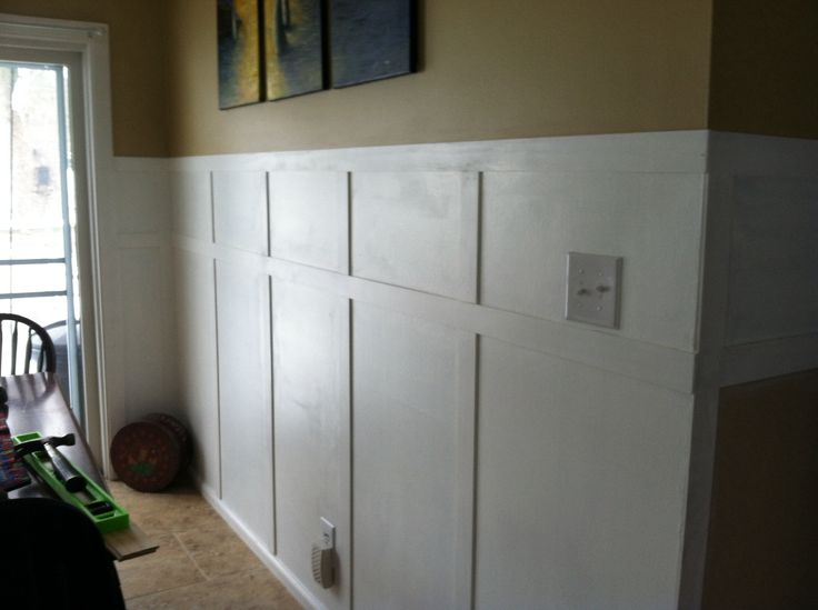 Faux Wainscoting Finished Pinterest Wins Pinterest
