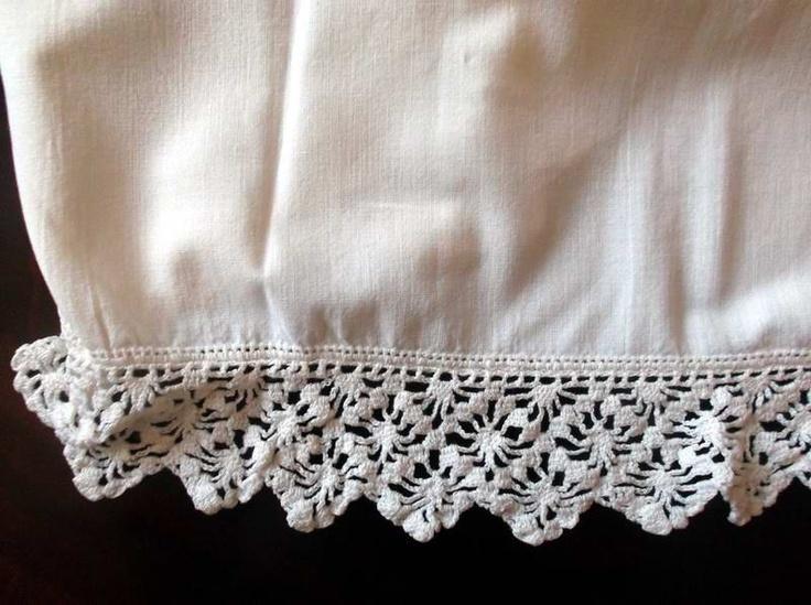 crochet lace trim - Google Search
