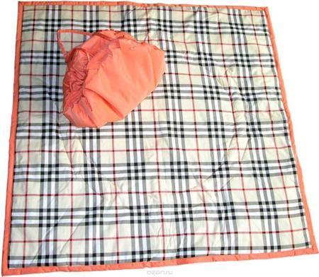 """Чудо-Чадо Переносной коврик-сумка цвет оранжевый бежевая шотландка  — 1278р.  """"Игровое место"""" для малыша, которое всегда с собой! Очень удобен для игр дома на полу или путешествий из комнаты в комнату вслед за мамой и папой, вместе с любимыми игрушками. Незаменим для походов в гости, поликлинику, спортзал… И, конечно, для выходов летом на природу!!! В сырое и холодное время года может использоваться как теплое, непромокаемое одеяло в коляску. Особенности: для дома и для улицы мягкий…"""