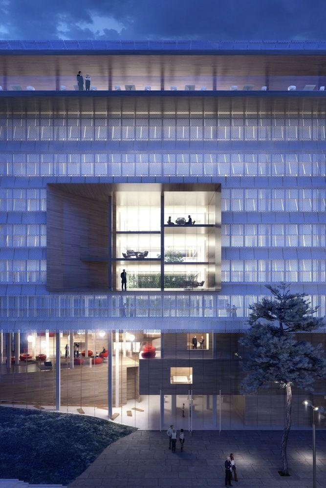 Gallery - City Municipal Office Complex / ECDM Architects - 11