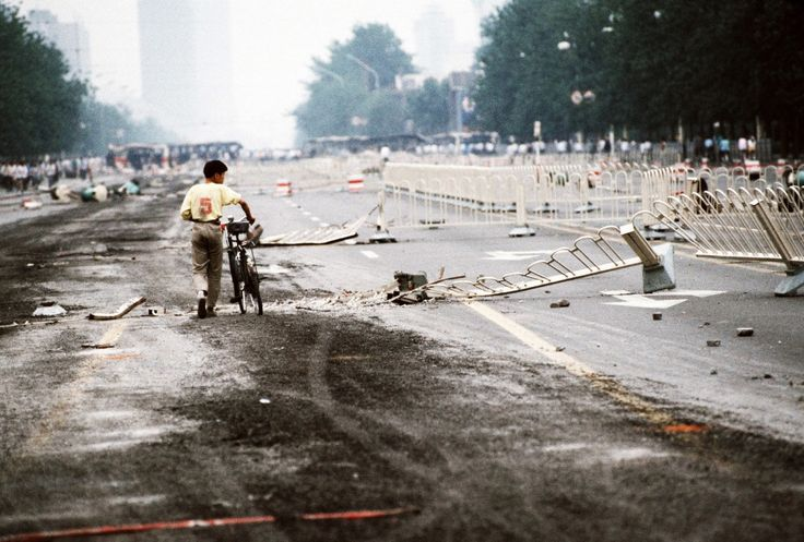 A look back the China's pro-democracy protests of 1989, presented by Getty Images. (Warning: graphic images.)