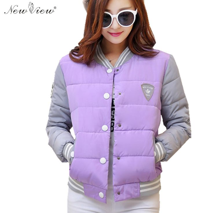 $39.60 (Buy here: https://alitems.com/g/1e8d114494ebda23ff8b16525dc3e8/?i=5&ulp=https%3A%2F%2Fwww.aliexpress.com%2Fitem%2F2016-Fashion-Winter-Coat-Women-Cotton-Casual-Thick-Warm-Sport-Uniform-Baseball-Jacket-Slim-Parka-Casaco%2F32704600641.html ) 2016 Fashion Winter Coat Women Cotton Casual Thick Warm Casual Uniform Baseball Jacket Slim Parka Casaco Feminina Jaqueta Femme for just $39.60