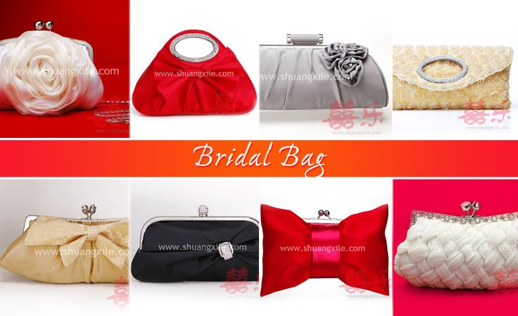 Bridal Bag by Shuang Xi Le