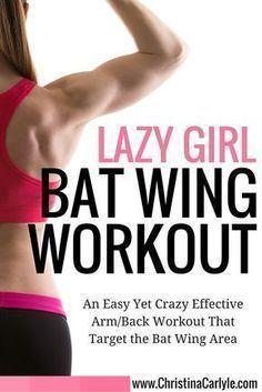 Lazy girl bat wing workout – Christina Carlyle