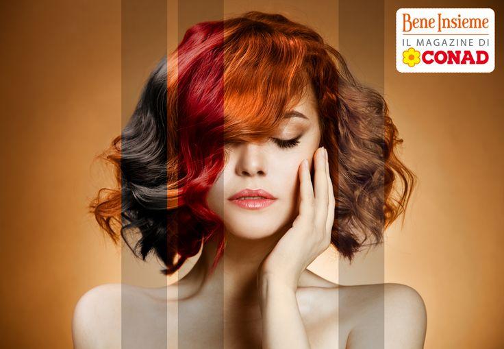 """State pensando di tingere i #capelli?Provate con l'#henné se volete un risultato più """"tradizionale"""", o con i #pigmenti puri se preferite le #tinte shock. Ricordate però di non sovrapporre i trattamenti chimici: i #capelli tinti sono più fragili!  Sfoglia il numero di Gennaio di #BeneInsieme per altri preziosi consigli!"""