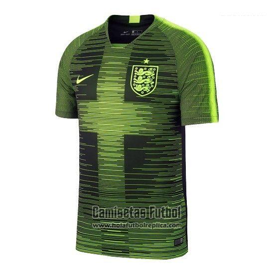 c3be0c19448be Camiseta de Entrenamiento Inglaterra 2018 Verde