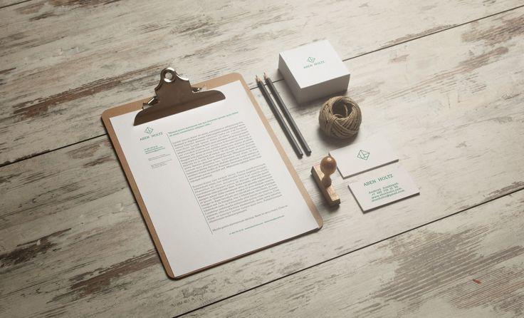 Концепт. Дизайн логотипа и визитки. Заказчик - Компания Aben Holz