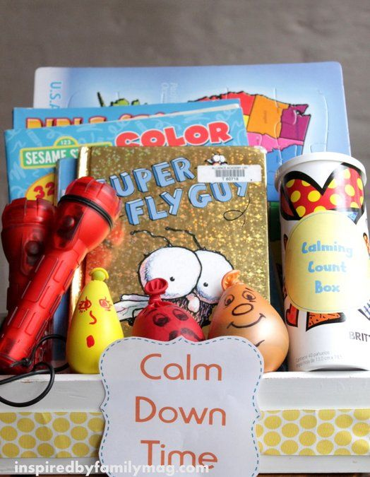 Calm Down Time Kit- do you have a child who needs help calming down from a positive or negative situation?  I do and I'm sharing some of my activities that I've used for my son for the past 8 years.