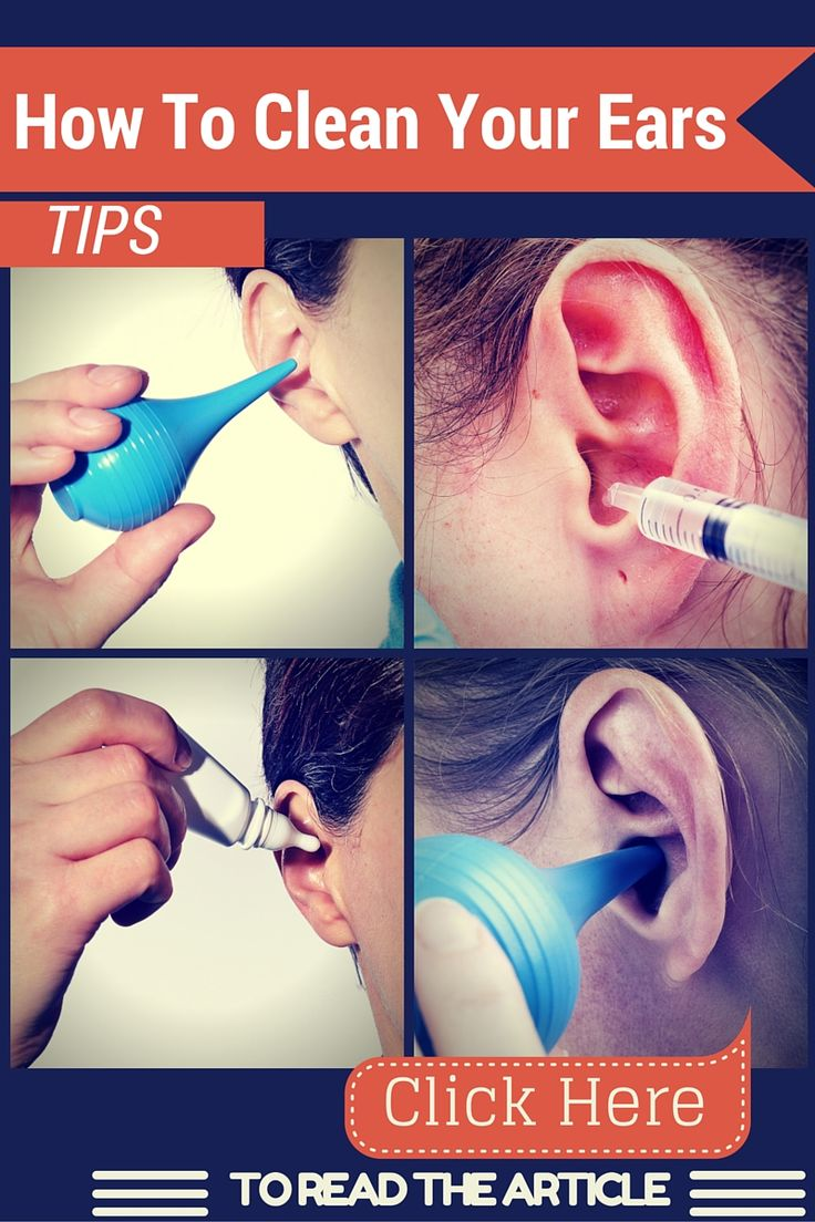 So, what is the right way to clean your ears? Short of going to the doctor for a proper ear cleaning, how can you get rid of the wax in your ears? Here are a few of the best methods for cleaning out your ears: