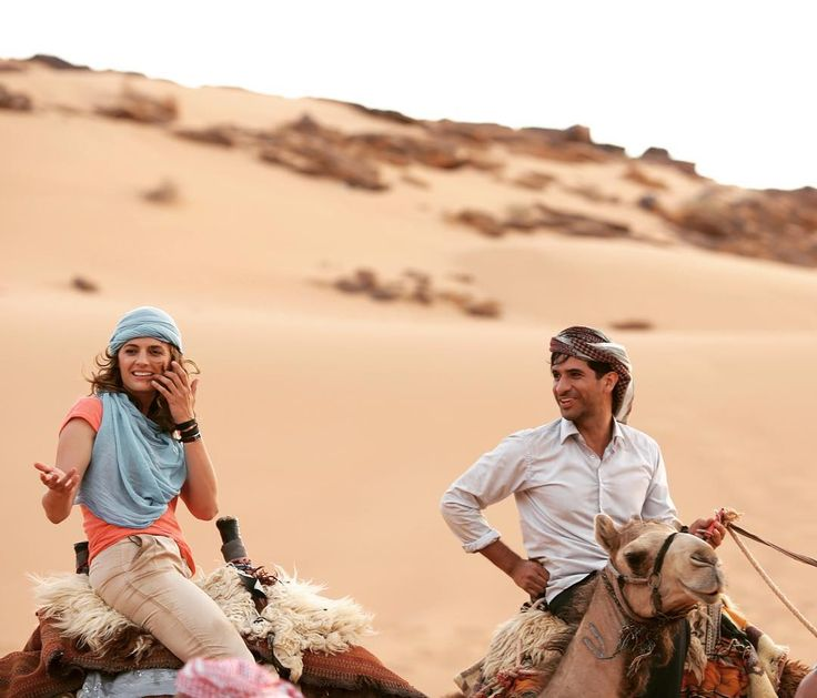 For our dear fans waiting for #theRendezvous @drstanakatic and @.razajaffrey riding in Wadi Rum, Jordan