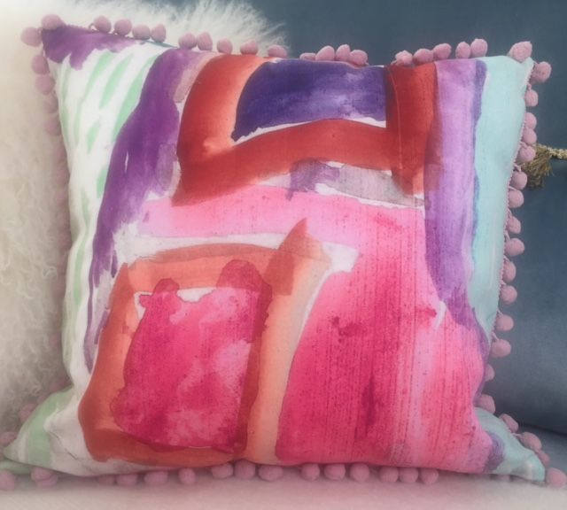 This #pillow #artwork is made by my 5 year old #daughter, I turned it into a #pillowcase. We had lots of fun time doing it. visit my #Etsy #shop for more #pictures . https://www.etsy.com/shop/ILOVEFASHIONCOUK?ref=hdr_shop_menu