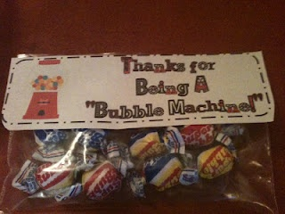 A Bubble Gum Incentive for Clean Bubble Sheets during Standardized Testing!