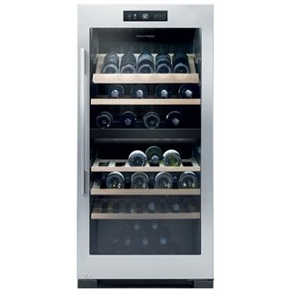 Fisher and Paykel 2 Temperature Wine Cabinet - RF206RDWX1 - Capacity: 83 Bottles - Glass Door - Perfect for anywhere in your home, kitchen, dining room or living room!