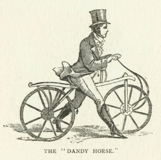 Penny Farthing Bicycle (1860's)