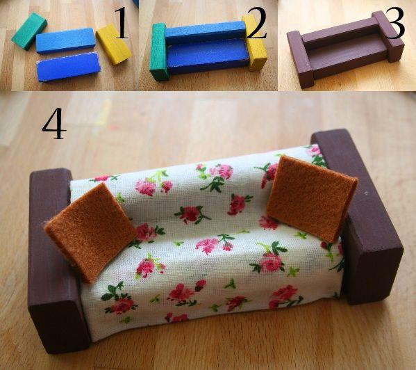 diy, crear muebles para muñecas