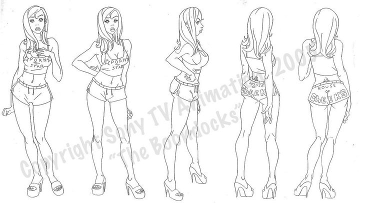 Female Model Sheets | DAVID COLMAN INTERVIEW