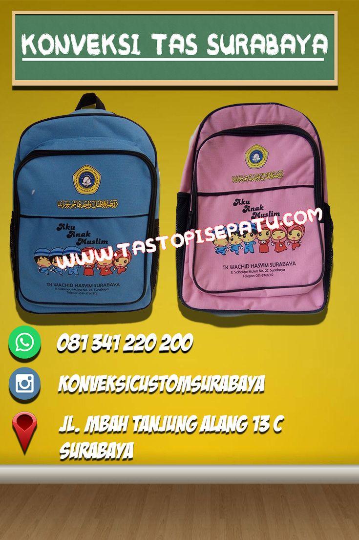 anda ingin pesan tas sekolah  Pesan saja di konveksi tas surabaya 081 341  220 200 konveksi tas surabaya menyediakan jasa pemesan… 6c35d78255