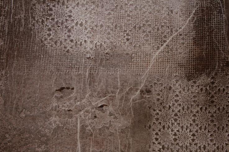 decorazione a inprinting in microcemento