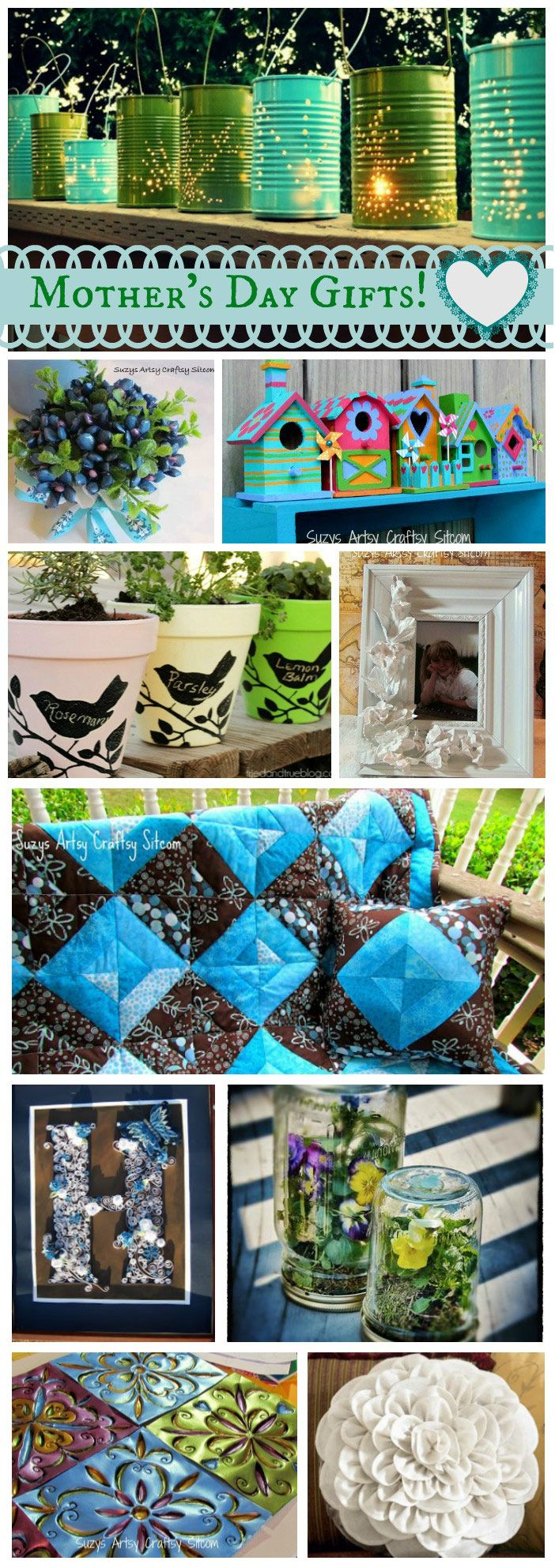 Ten DIY Mothers Day gifts that mom will love!