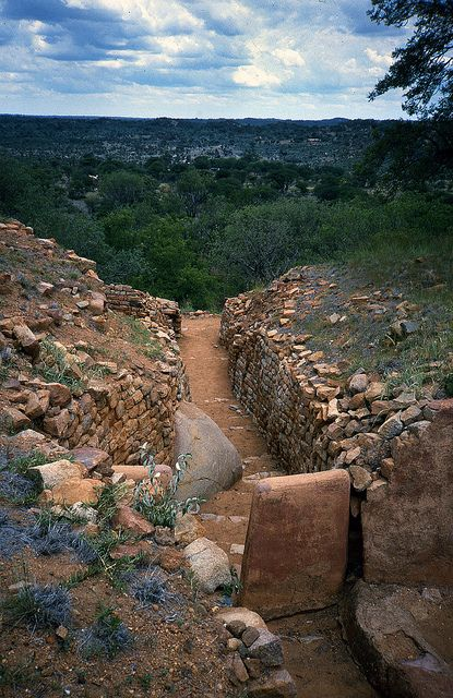 Khami ruins, Zimbabwe by arkland_swe, via Flickr    I remember going here on school trips