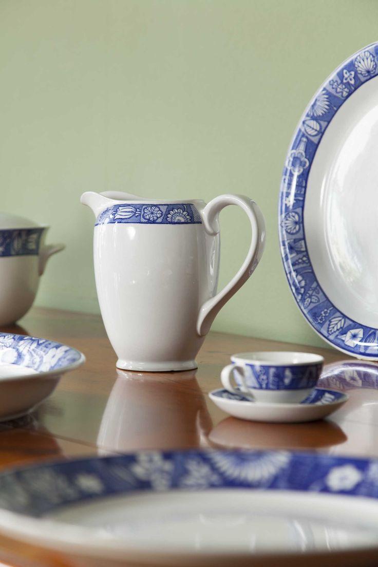 Tableware Runo By Anja Juurikkala, Oy Arabia Ab, 1960-65. Heinola Town Museum collection. Foto: Niclas Warius